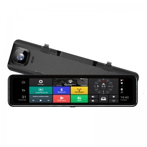 H1105P  New Arrival 12 inch 4G Smart Rearview Mirror