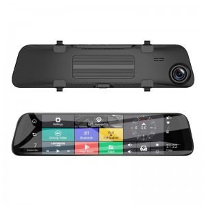 H1103P    12 inch 4G Smart Rearview Mirror Car Camera