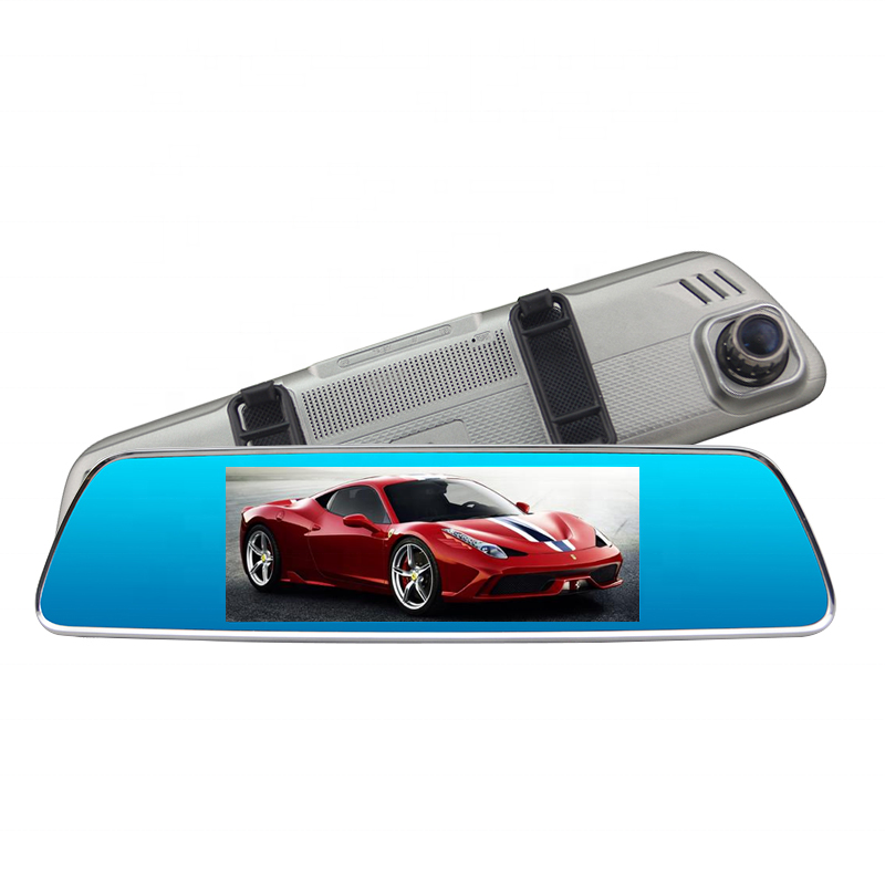 H714   7 inch 4G Rearview Mirror Camera