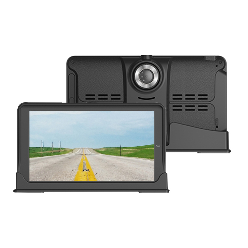 """734   7"""" Touch Screen Universal Car GPS Navigation with DVR"""
